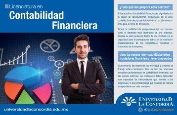 Contabilidad Financiera - Universidad La Concordia