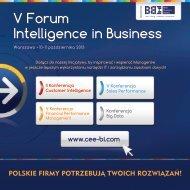 V Forum Intelligence in Business - Blue Business Media
