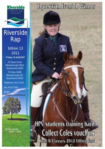 Riverside Rap - Riverside Christian College