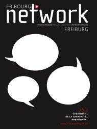 de la créativité... kreativität... creativity… - Fribourg Network Freiburg
