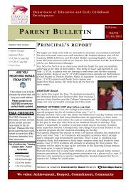 Bulletin 10 - Drouin Secondary College