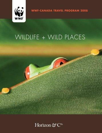2008 Wildlife & Wild Places Brochure - Horizon & Co.