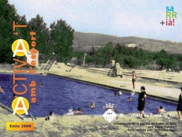 Activat estiu09:Layout 1.qxd - Sarrià de Ter