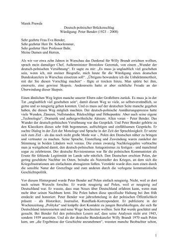 Vortrag lesen - Willy-Brandt-Kreis