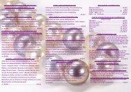 Kosmetische Behandlungen - Preisliste - Kosmetikstudio Pearl