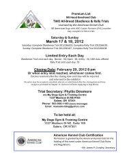 March 17 & 18, 2012 - Mt. Hood Keeshond Club