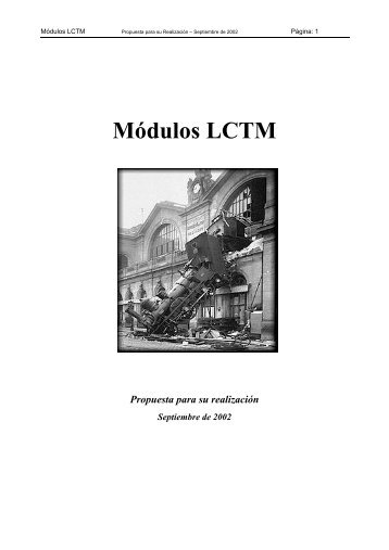 Módulos LCTM - LCTM Página principal