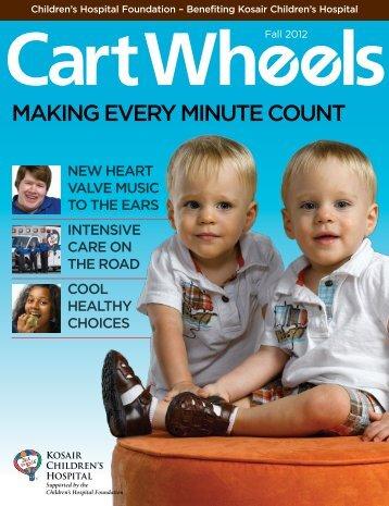 Cart Wheels - Fall 2012 - Kosair Children's Hospital