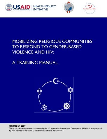 A Training Manual - Health Policy Initiative