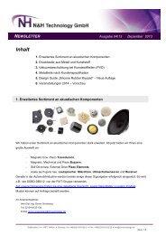 Ausgabe 2013/04 Erweitertes Sortiment an ... - NH Technology