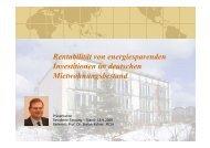 Rentabilität energetischer Modernisierungen - Hogareal.de