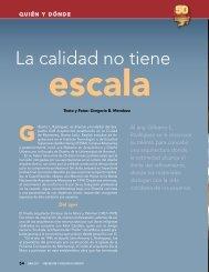 La calidad no tiene escala - Instituto Mexicano del Cemento y del ...
