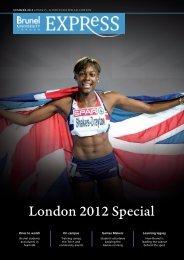 London 2012 Special - Brunel University