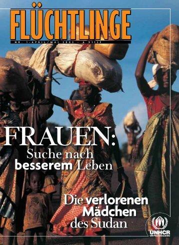 """Heft 1/2002: """"Frauen: Suche nach besserem Leben"""" - unhcr"""
