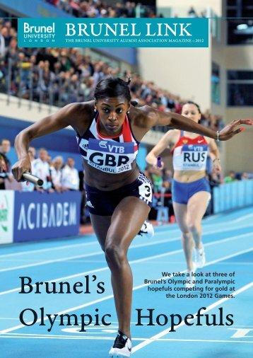 Brunel's Olympic Hopefuls - Brunel University