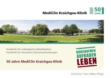 50 Jahre MediClin Kraichgau-Klinik