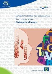 Europäisches Glossar zum Bildungswesen