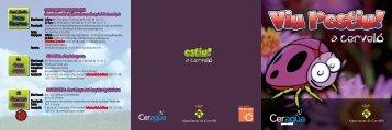 Casal estiu 2008 - Ajuntament de Cervelló
