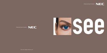NEC Display Solutions - Rapid Technologies