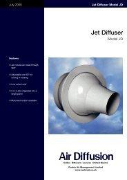 Jet Diffuser - Air Diffusion
