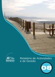 Relatório de Atividades e de Gestão 2008 - Câmara Municipal de ...