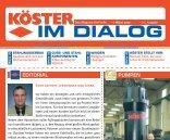 IM DIALOG - Friedrich Köster GmbH & Co. KG
