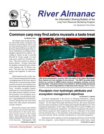 River Almanac - Upper Midwest Environmental Sciences Center