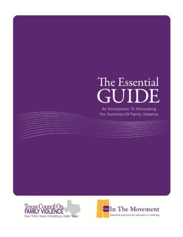 the essential guide - Texas Council on Family Violence