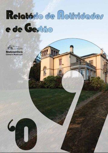 Relatório de Atividades e de Gestão 2009 - Câmara Municipal de ...
