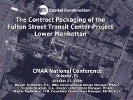 Fulton Street Transit Center - CMAA