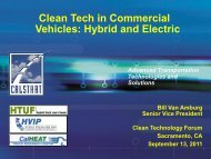 Clean Tech in Commercial Vehicles: Hybrid and Electric