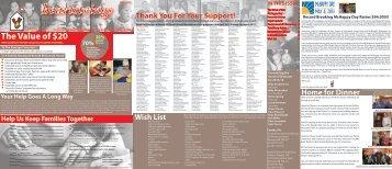 new* fall newsletter 2013 - Ronald McDonald House