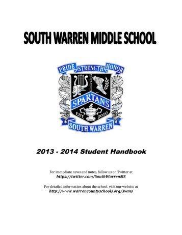 2013 2014 Student Handbook - Warren County Schools