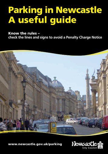 Parking in Newcastle A useful guide - Newcastle City Council