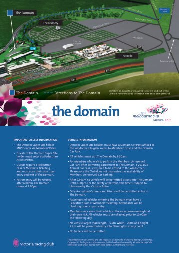 the domain - Melbourne Cup