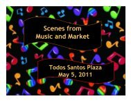 Scenes from Music and Market - City of Concord