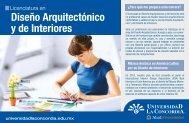 Diseño Arquitectónico y de Interiores - Universidad La Concordia