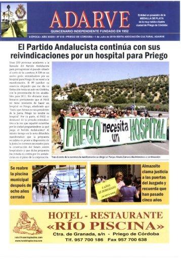 «RIO PISCINA» - Periódico Adarve