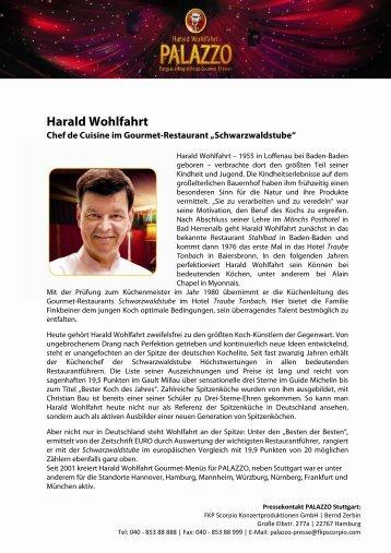 Harald Wohlfahrt - Palazzo