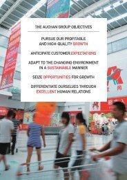 Sustainable development report 2011 - Auchan . com