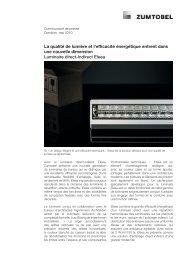 La qualité de lumière et l'efficacité énergétique entrent dans une ...