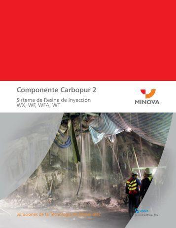 Componente Carbopur 2 - Minova