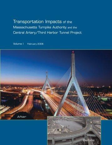 Transportation Impacts of the Massachusetts Turnpike - MassDOT