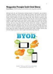 Saya dan BYOD - Blog Sivitas STIKOM Surabaya