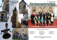 Kirchenblatt Juni/Juli 2013 - Kirchgemeinde Neukirch/Lausitz