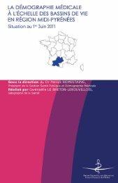 Atlas 2011 de la région Midi-Pyrénees - Conseil National de l'Ordre ...