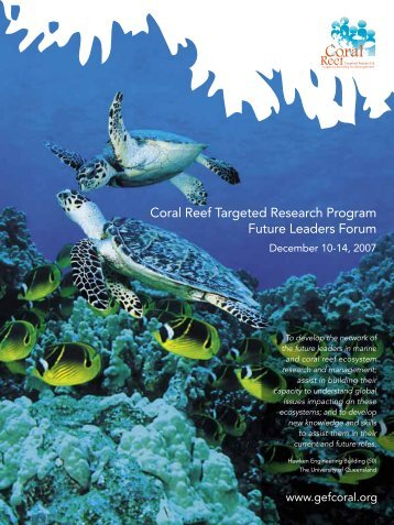 Untitled - Coral Reef Targeted Research