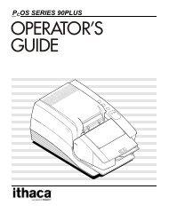 Series 90 Operator's Guide - TransAct