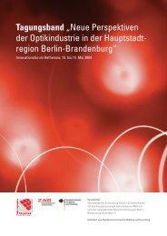 Tagungsband - Innovationsforum-Optik-Rathenow.de