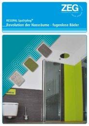 RESOPAL SpaStyling - ZEG Zentraleinkauf Holz und Kunststoff eG